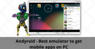 Andyroid - Best emulator to get mobile apps on PC